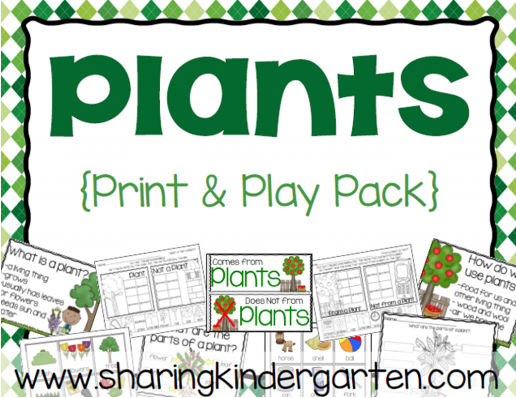 Plants Print & Play Pack