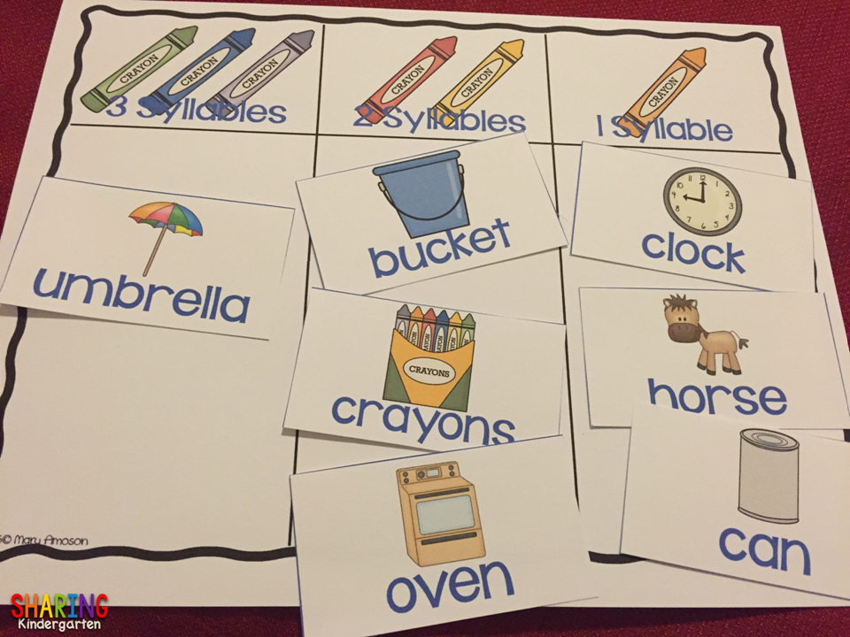 Syllables FUN