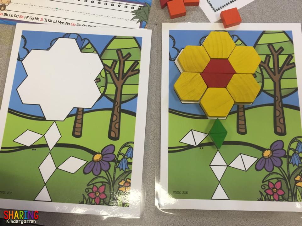 Spring Pattern Blocks