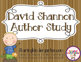 https://www.teacherspayteachers.com/Product/David-Shannon-Author-Study-236440
