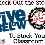 Have You Seen a Five Below?