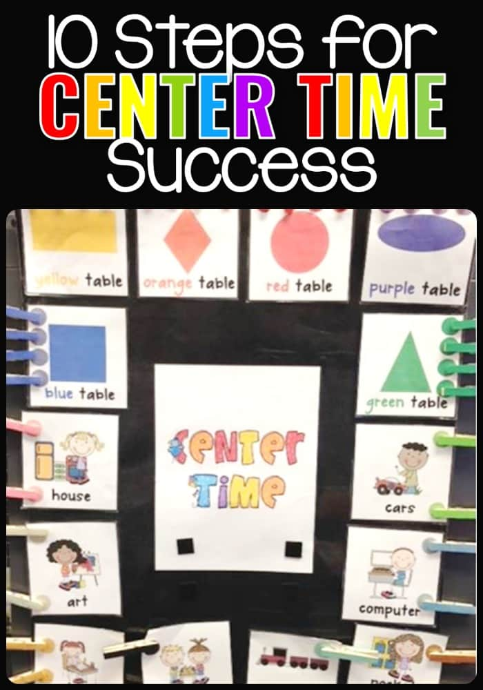 10 Steps for Center Time Success