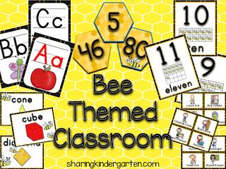 https://www.teacherspayteachers.com/Product/Bee-Themed-Classroom-1342075