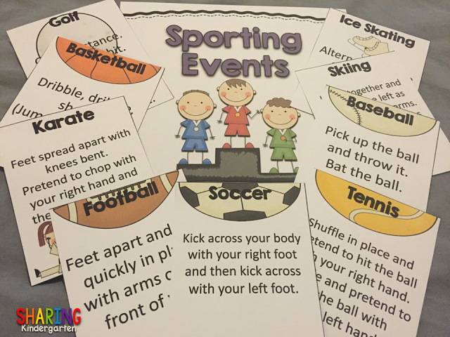 Sporting Events with Brain Breaks