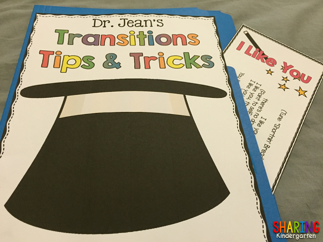 Dr. Jean Transitions Tips and Tricks