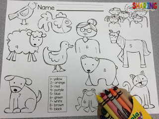 https://www.teacherspayteachers.com/Product/Brown-Bear-Color-Word-Scramble-243406