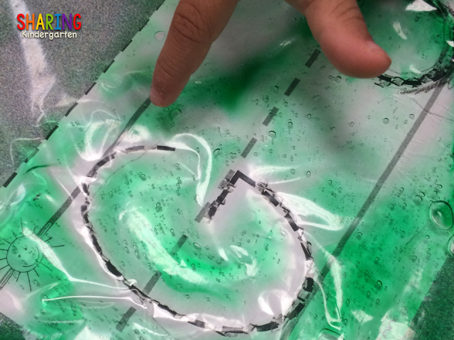 How to make HAIR GEL SENSORY BAGS