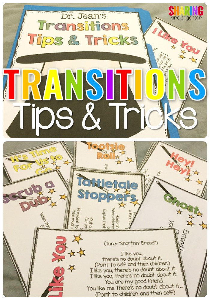 Transitions Tips & Tricks