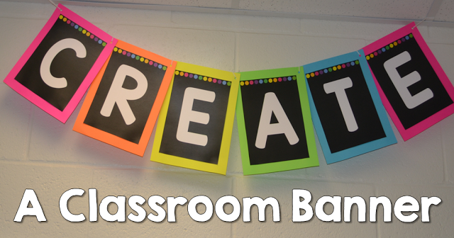 http://www.sharingkindergarten.com/2015/07/how-to-make-classroom-banner.html