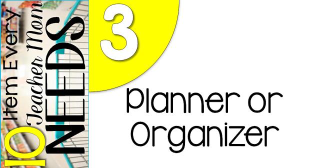10 Items every teacher needs.... organizer