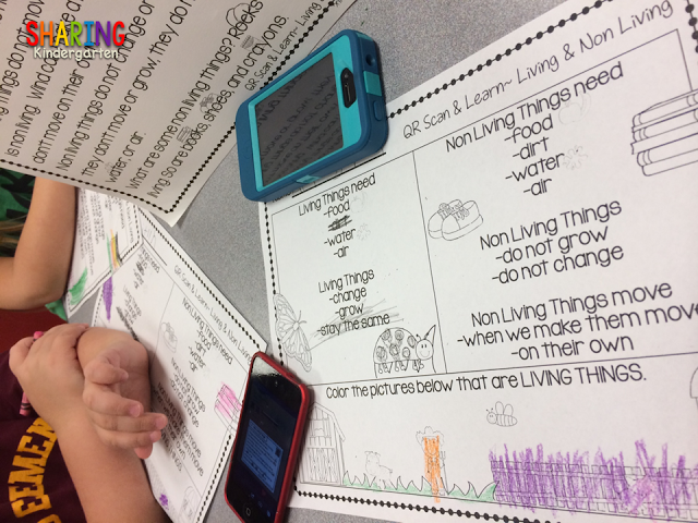 QR codes for living and non living things