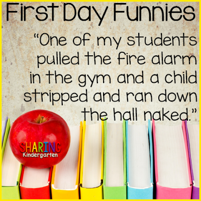 first day funnies... you will love these