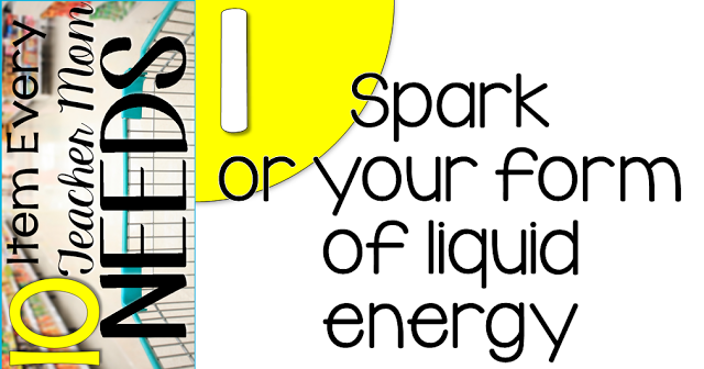 10 Items every teacher needs.... spark