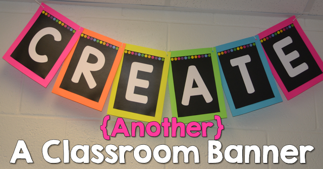 How to create {another} classroom banner