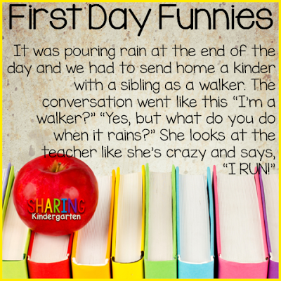 Laugh through the first day