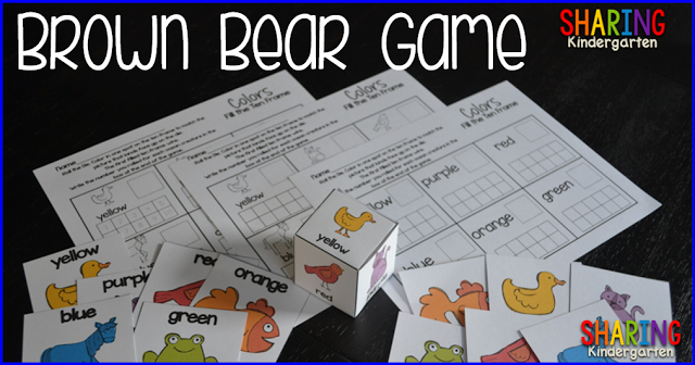 FUN interactive Brown Bear game