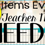10 Items Every Teacher Mom Needs