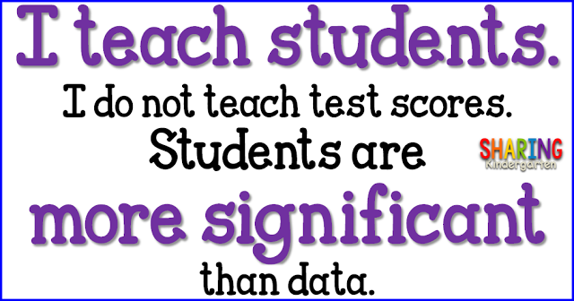 I teach students. I do not teach test scores.