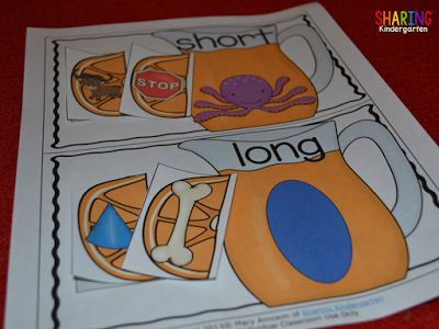 long and short vowel sorting for the letter Oo