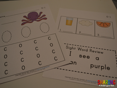 Letter Oo Phonics Activities