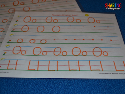 letter formation practice in a FUN way with little prep