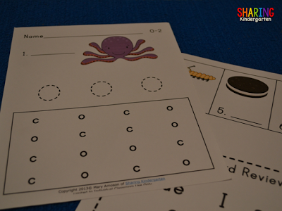 Letter Oo Phonics Activity