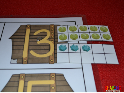 All About the Letter T: Challenge your students with two digit nuber building