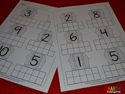 All About the Letter T: ten frame printable PERFECT for little learners