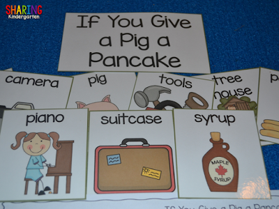 Pig a Pancake Sequencing Cards