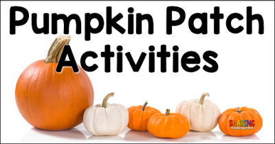 Pumpkin Patch Activities for Little Learners