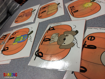 pumpkin phonics activity
