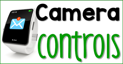 Camera Controls via the iWatch
