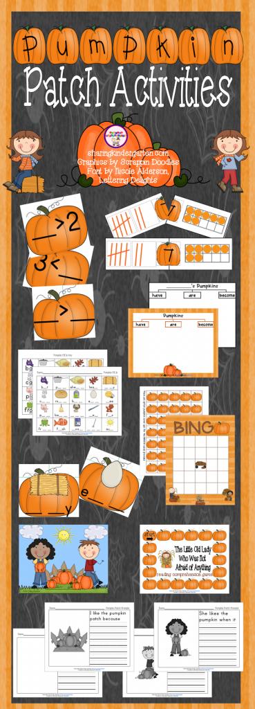 https://www.teacherspayteachers.com/Product/Pumpkin-Patch-Activites-356045