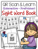 https://www.teacherspayteachers.com/Product/QR-Scan-Learn-Interactive-Sight-Word-Book-PrePrimer-1304797