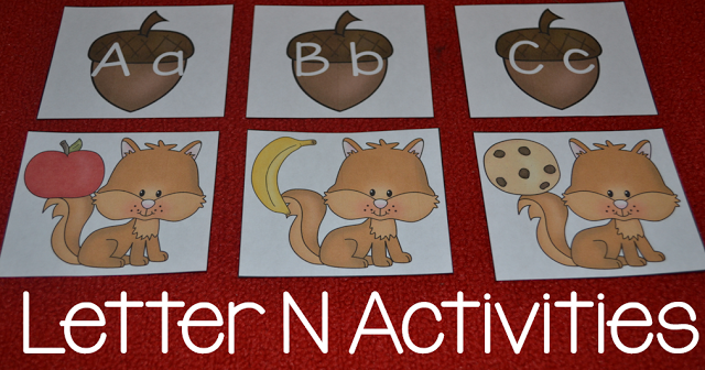 letter n activities for your little learners