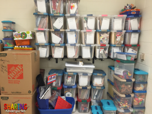 Organize my classroom after moving