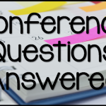 Conference Questions Answered