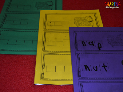 colored cardstock saves the day...