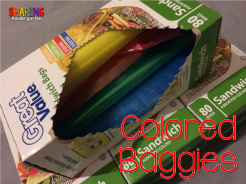 COLORED BAGGIES... life changing