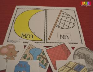 Sorting mats help sort the brain!