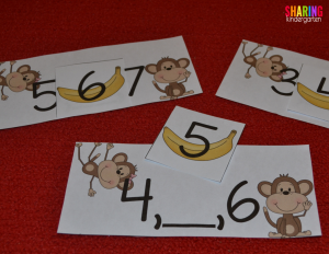 Monkey number ordering