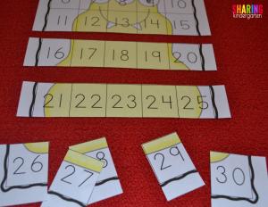 Monster math activity