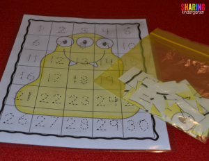 Monster number mats are so much FUN