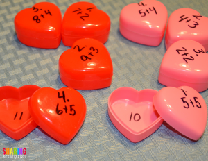 FUN valentine math activity
