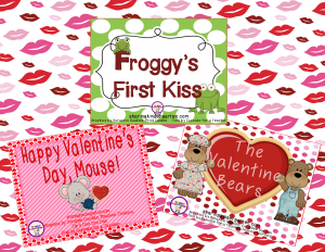 Valentine themed Reading Comprehension Games
