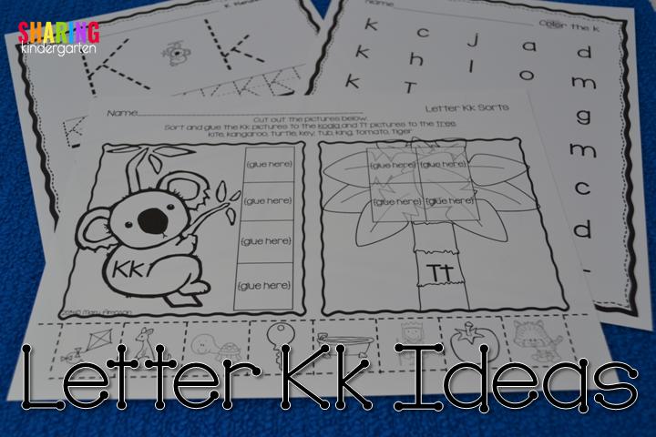 Letter Kk Ideas