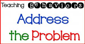 Teaching Behaviors- Step 1
