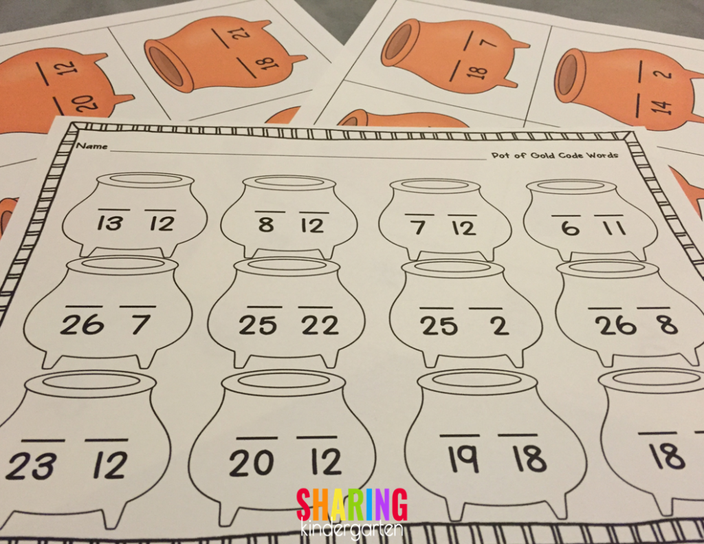 break the code printables