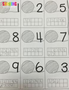 Ten frame ideas for little learners