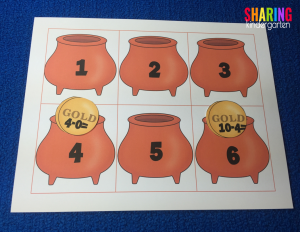 Gold coin subtraction sorting